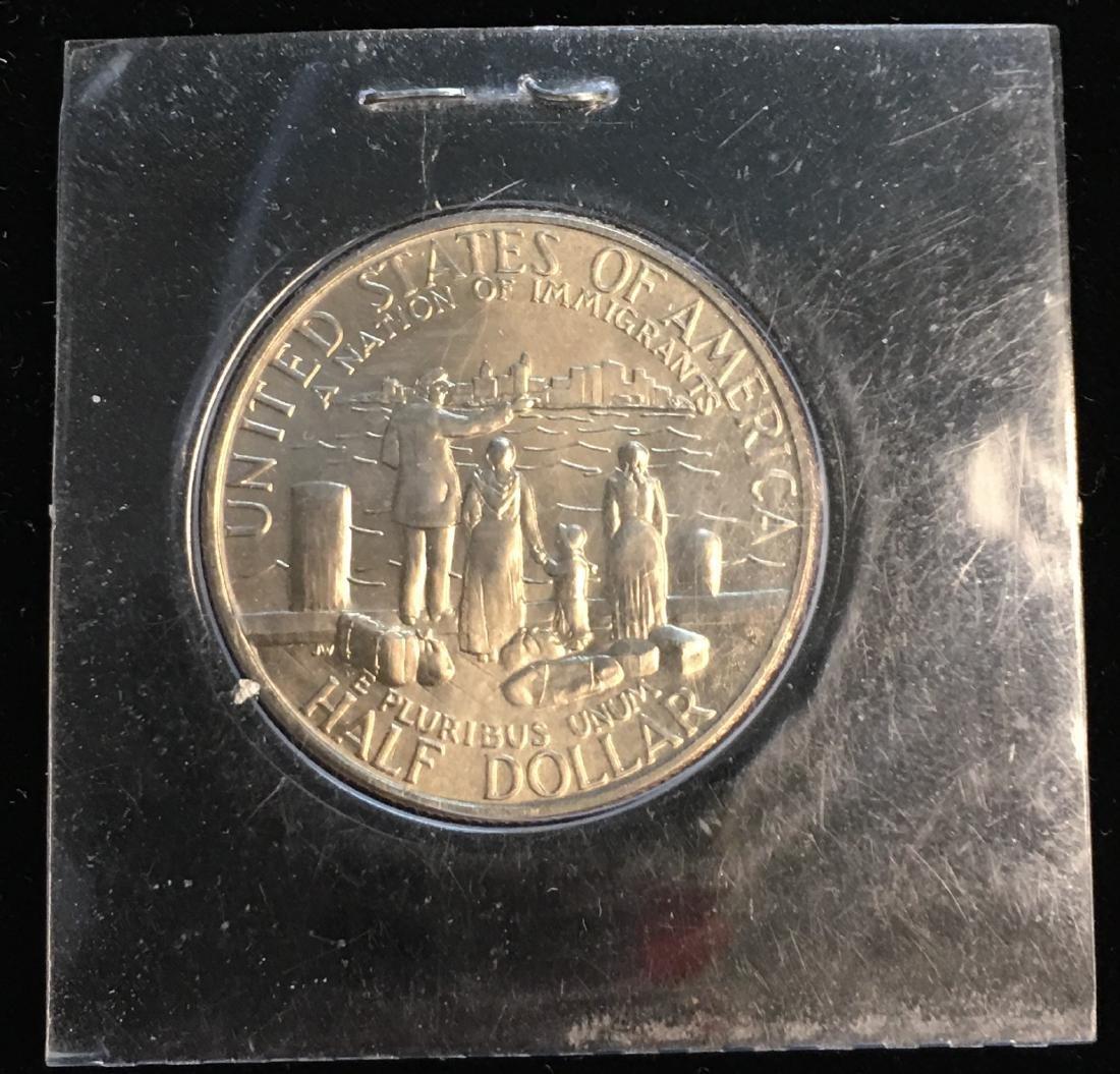 1986-D 50C Statue of Liberty Commemorative Half Dollar - 2