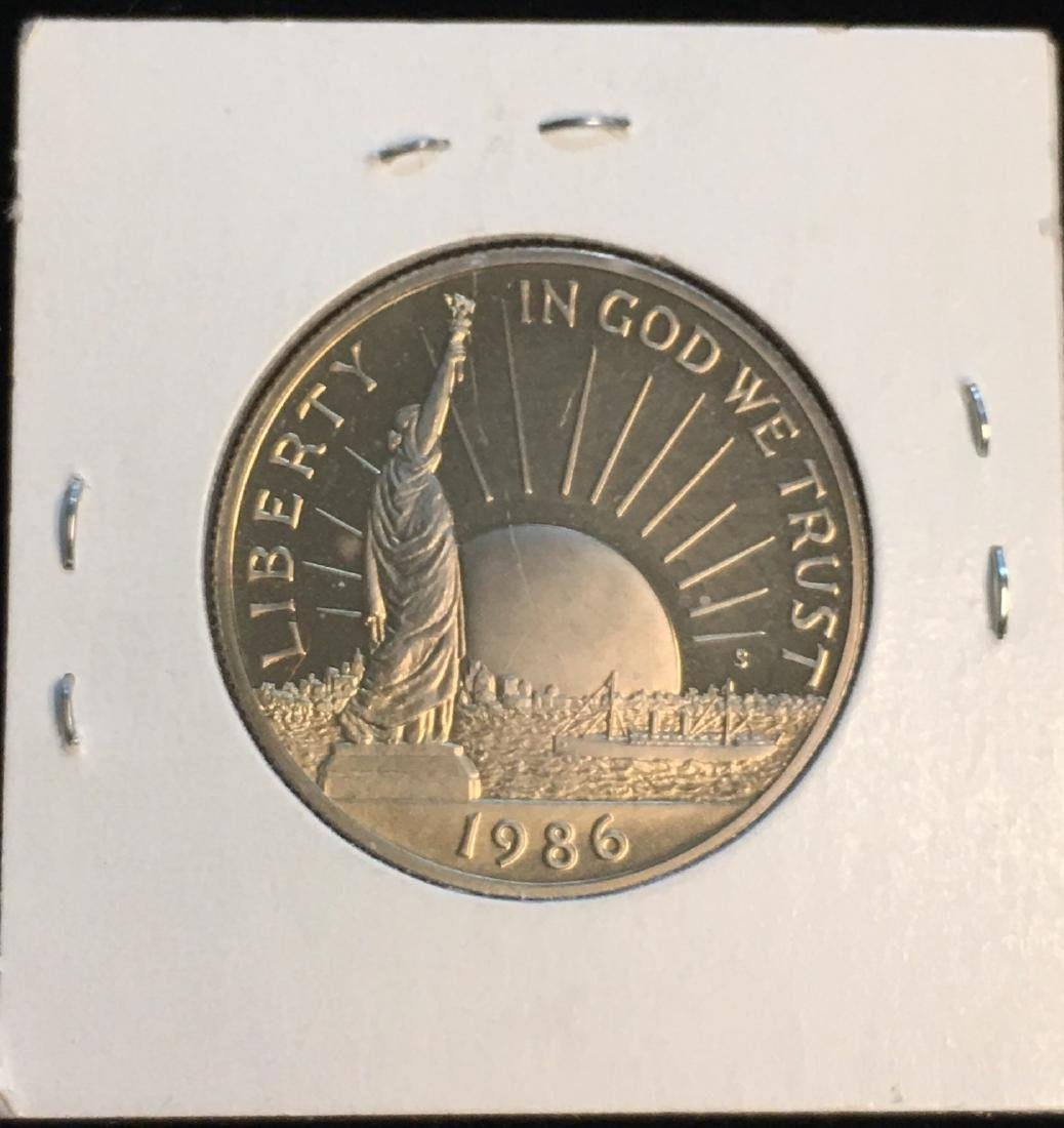 1986-S 50C Statue of Liberty Commemorative Half Dollar