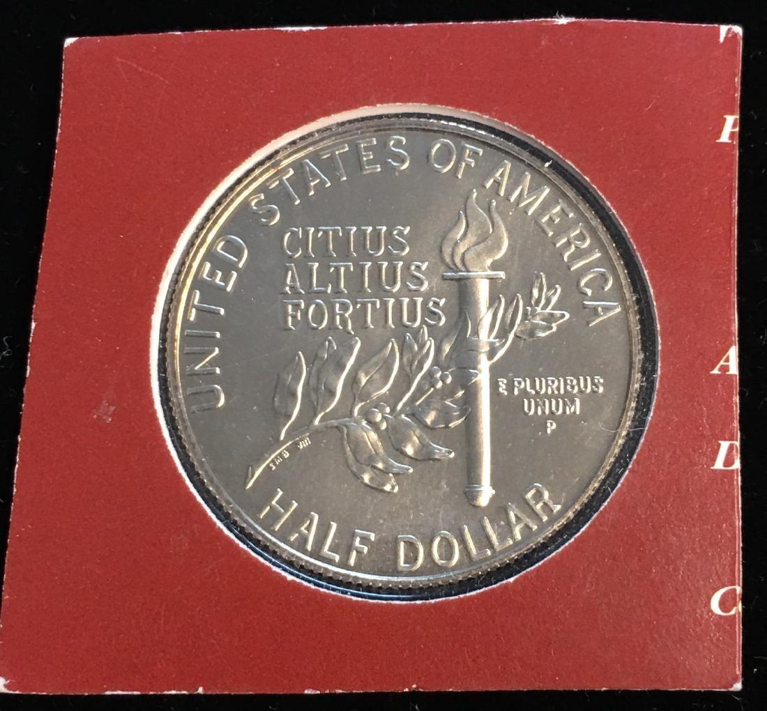 1992-P 50c XXV Olympiad Modern Commemorative Silver - 2
