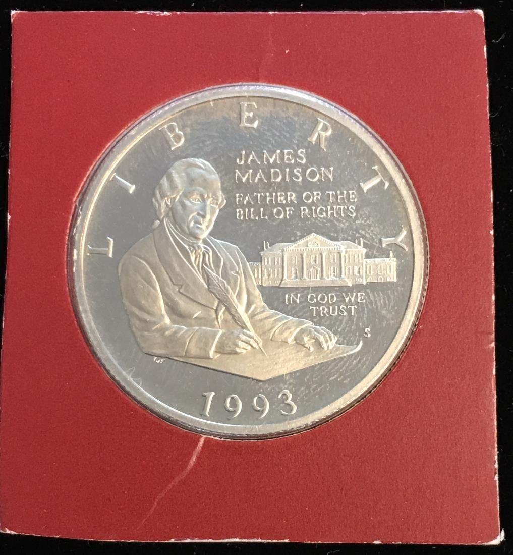 1993-S 50c Bill of Rights Modern Commemorative Silver