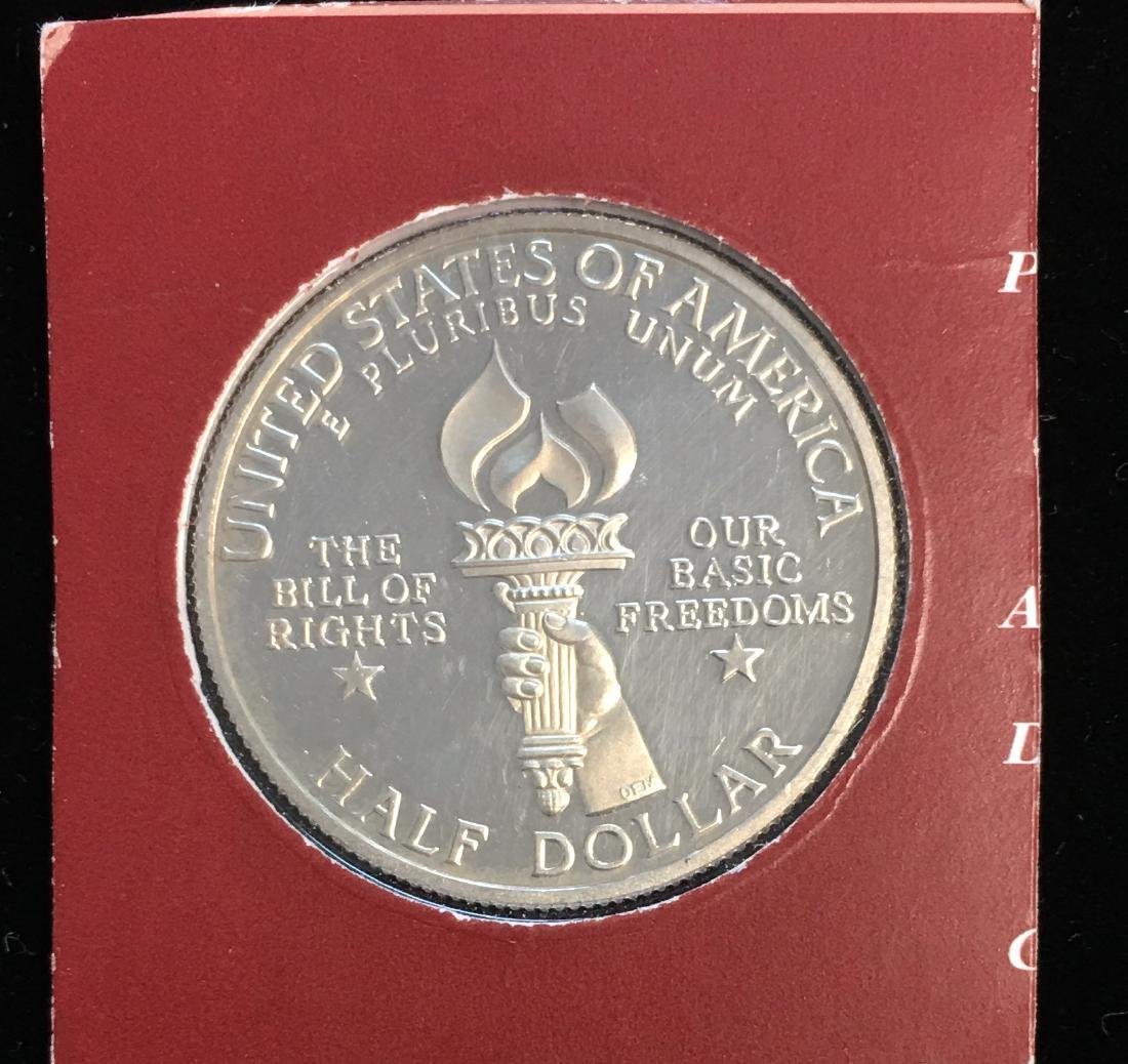 1993-S 50c Bill of Rights Modern Commemorative Silver - 2