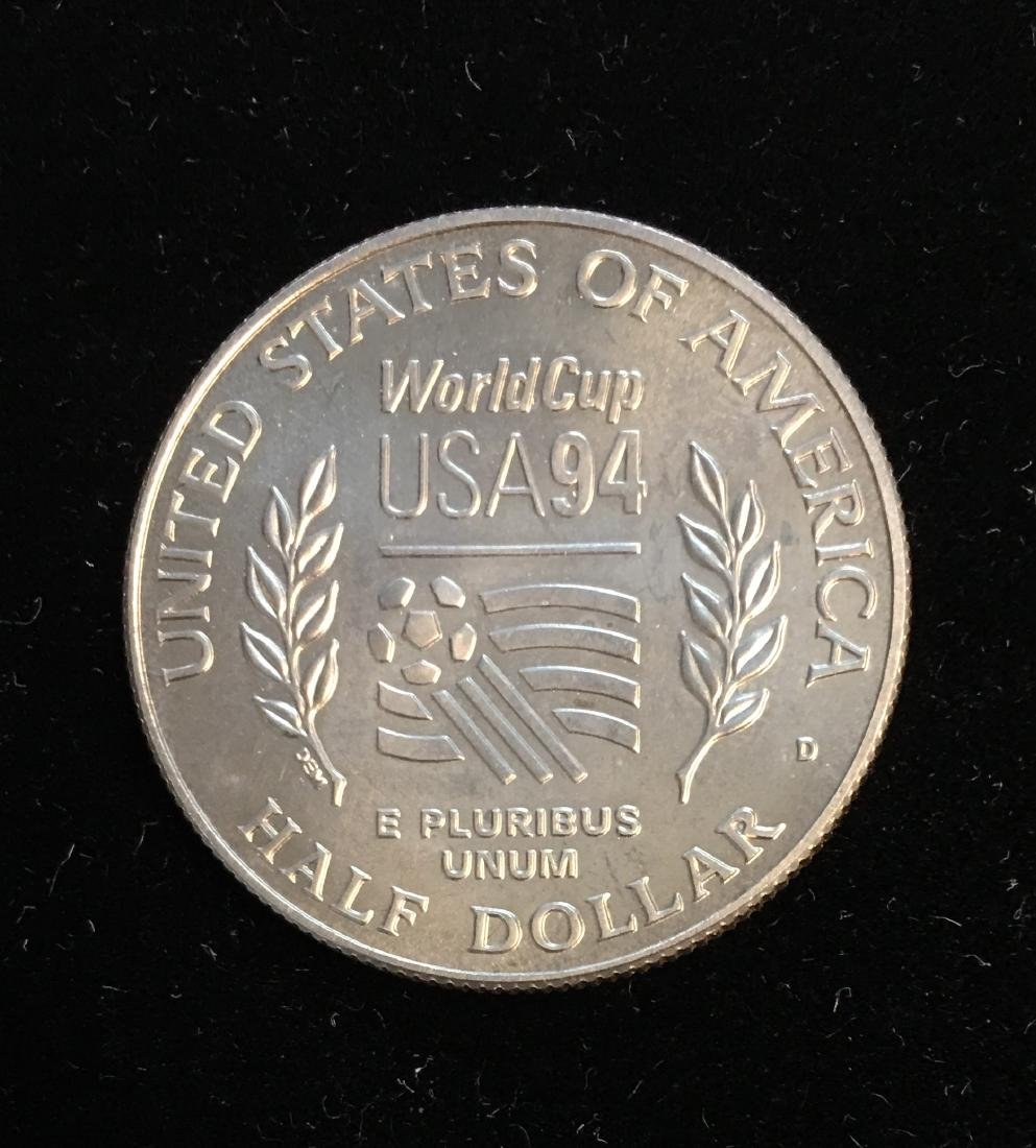 1994-D 50c World Cup Tournament - Soccer Commemorative - 2