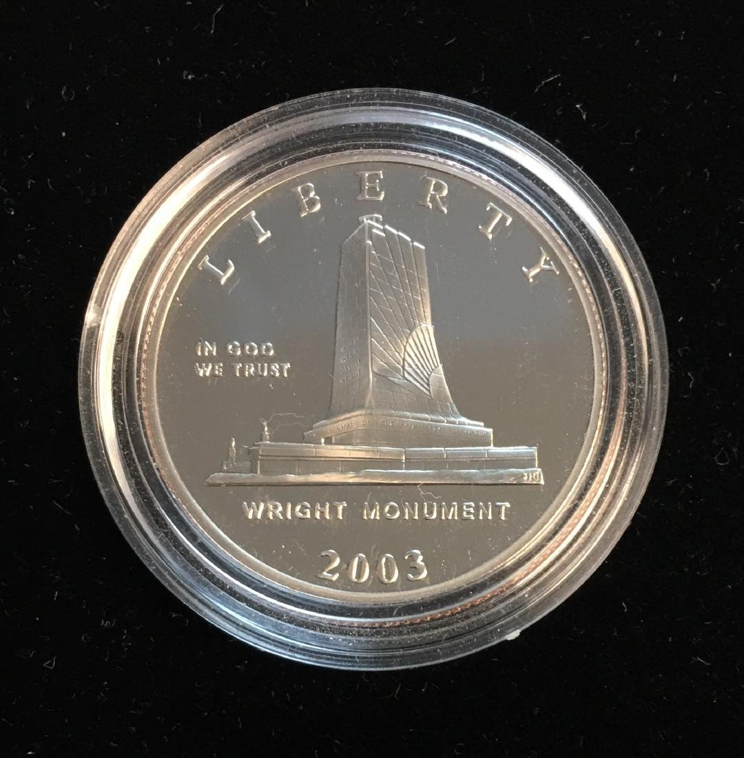 2003-P 50c First Flight Silver Commemorative Half