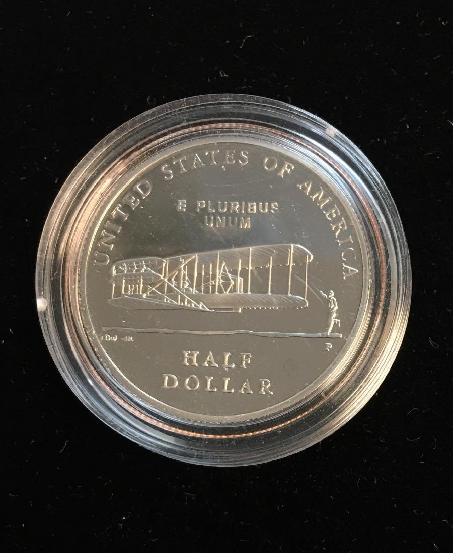 2003-P 50c First Flight Silver Commemorative Half - 2