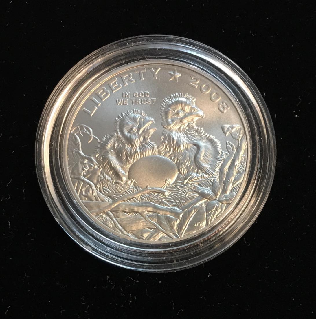 2008-S 50c Bald Eagle Modern Commemorative Half Dollar