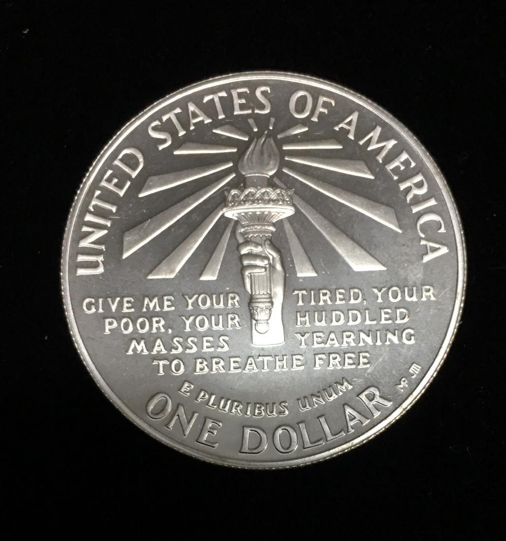 1986-S $1 Statue of Liberty Commemorative Silver Dollar - 2