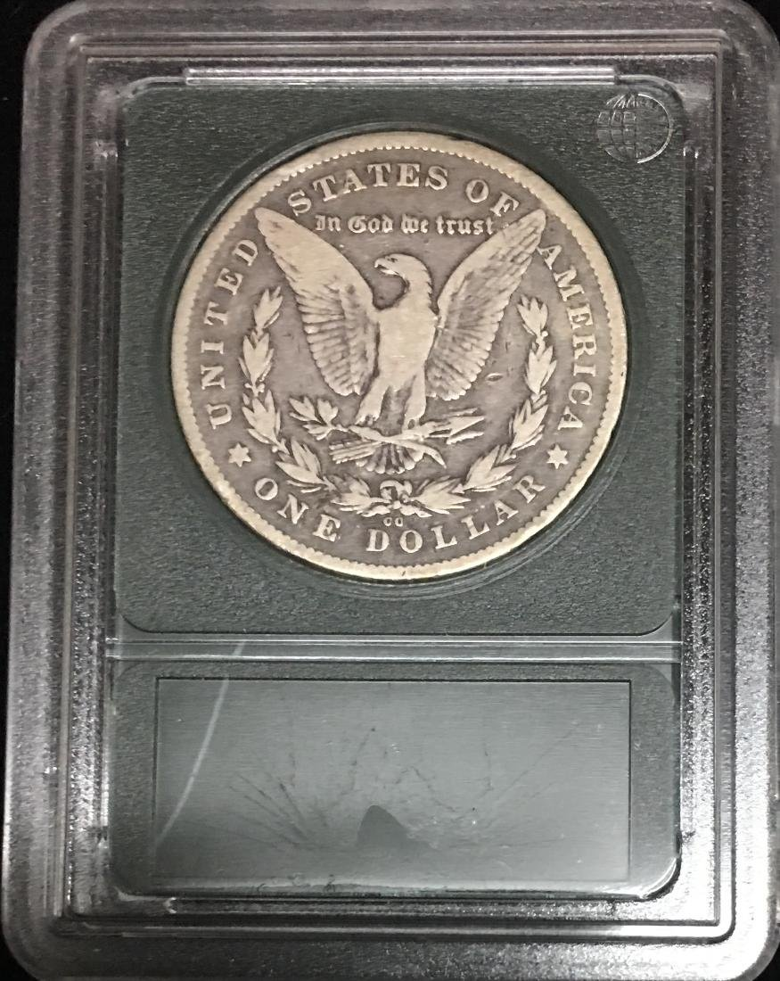 1878-CC $1 Morgan Silver Dollar VG-F - 2