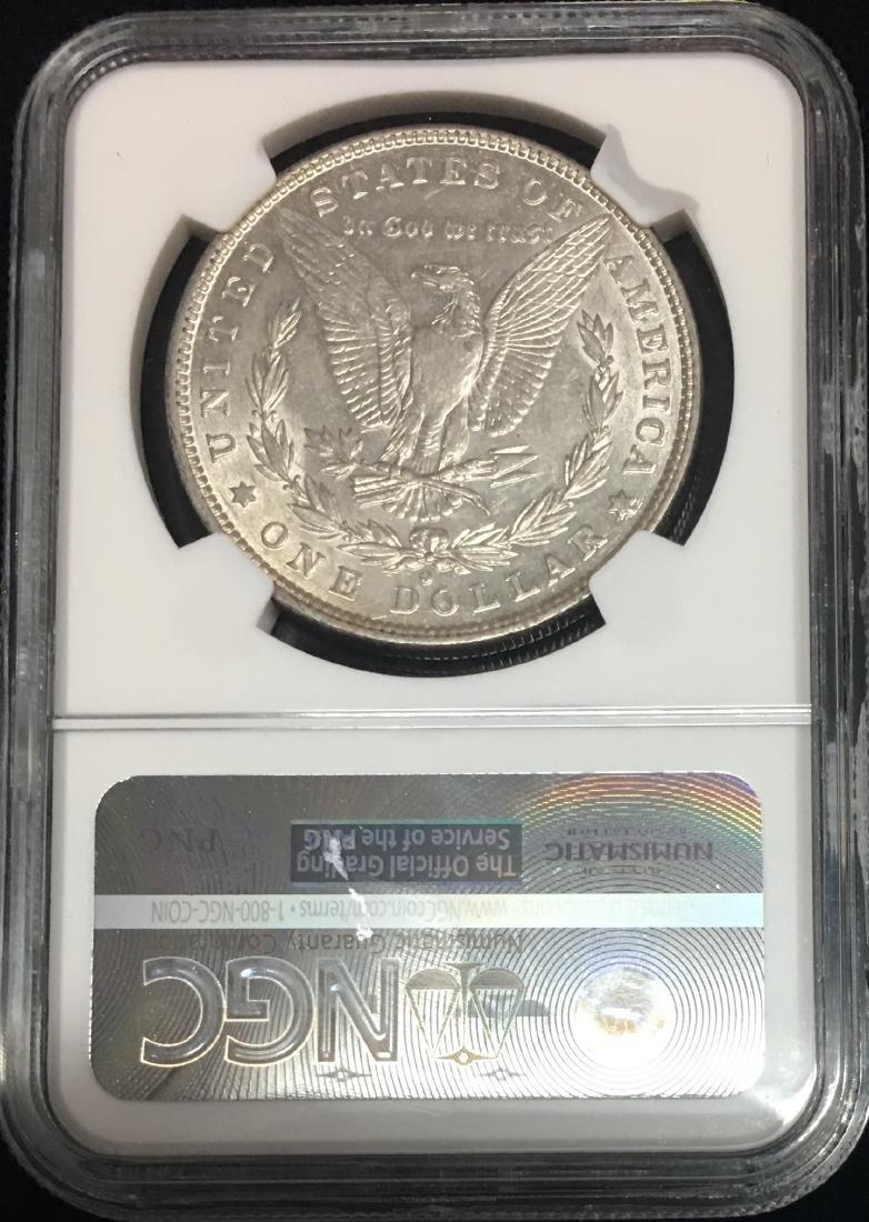 1880-O $1 Morgan Silver Dollar NGC AU55 - 2