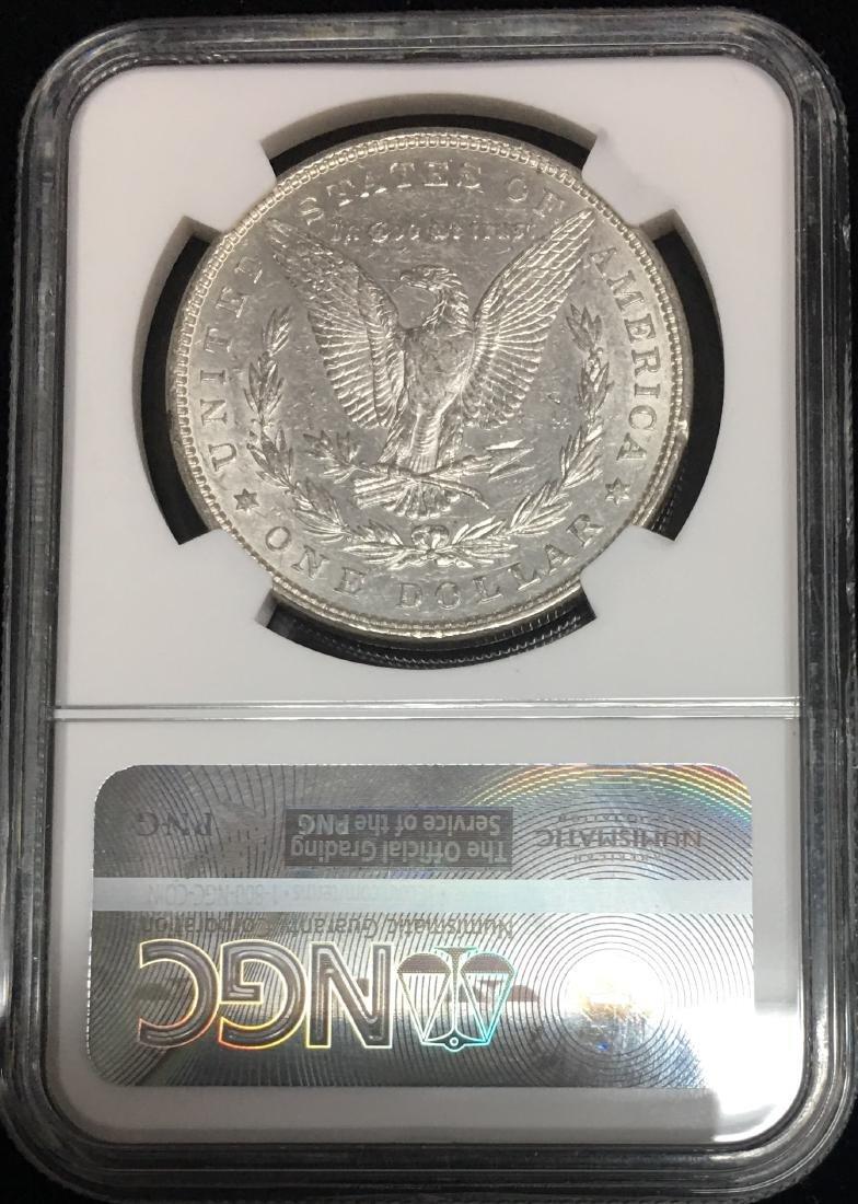 1882-P $1 Morgan Silver Dollar NGC AU55 White - 2