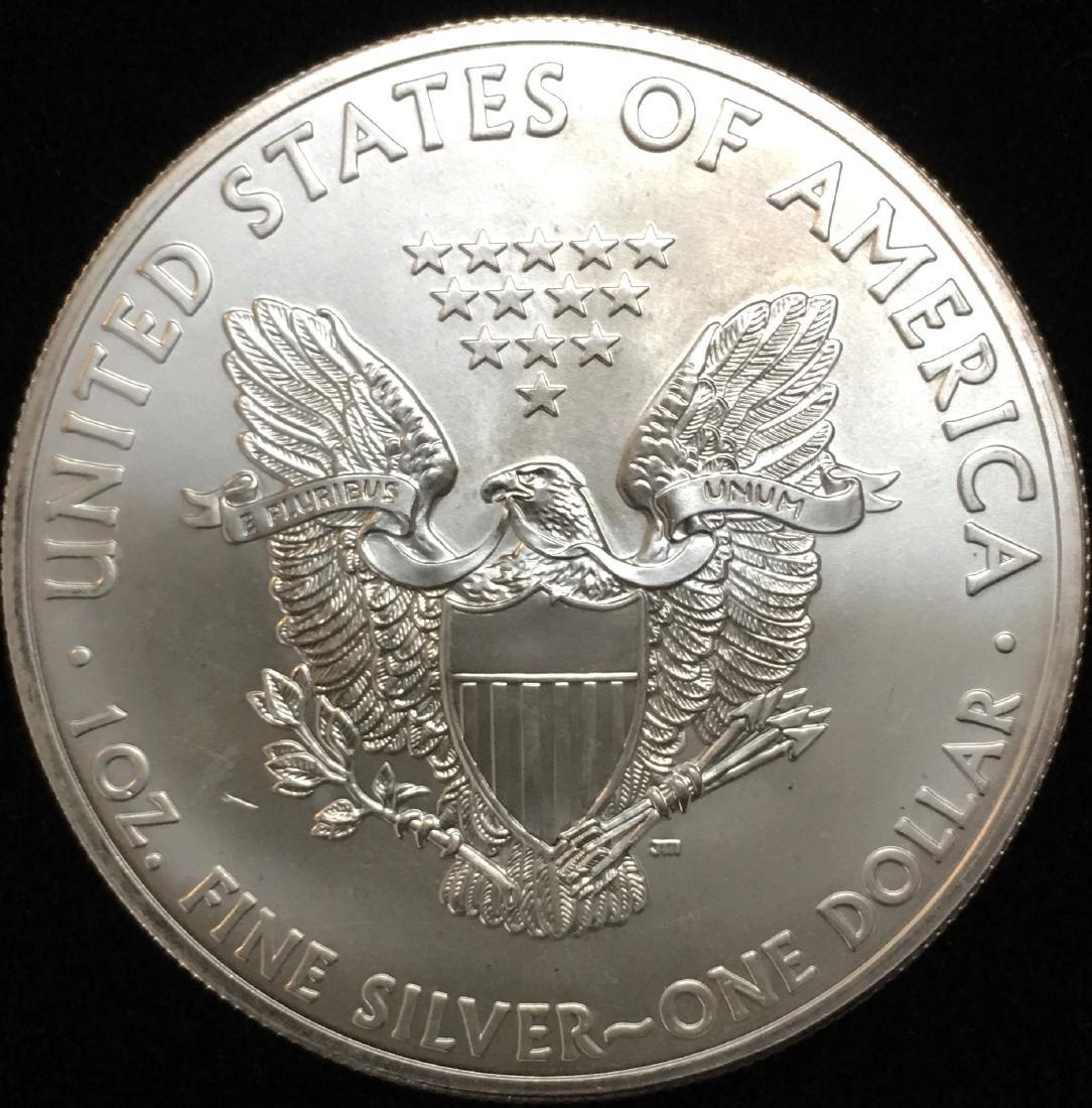 2013 $1 American Silver Eagle 1 oz. Fine Silver GBU - 2