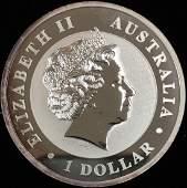 2011 $1 Australia Koala 1 oz .999 Silver GBU