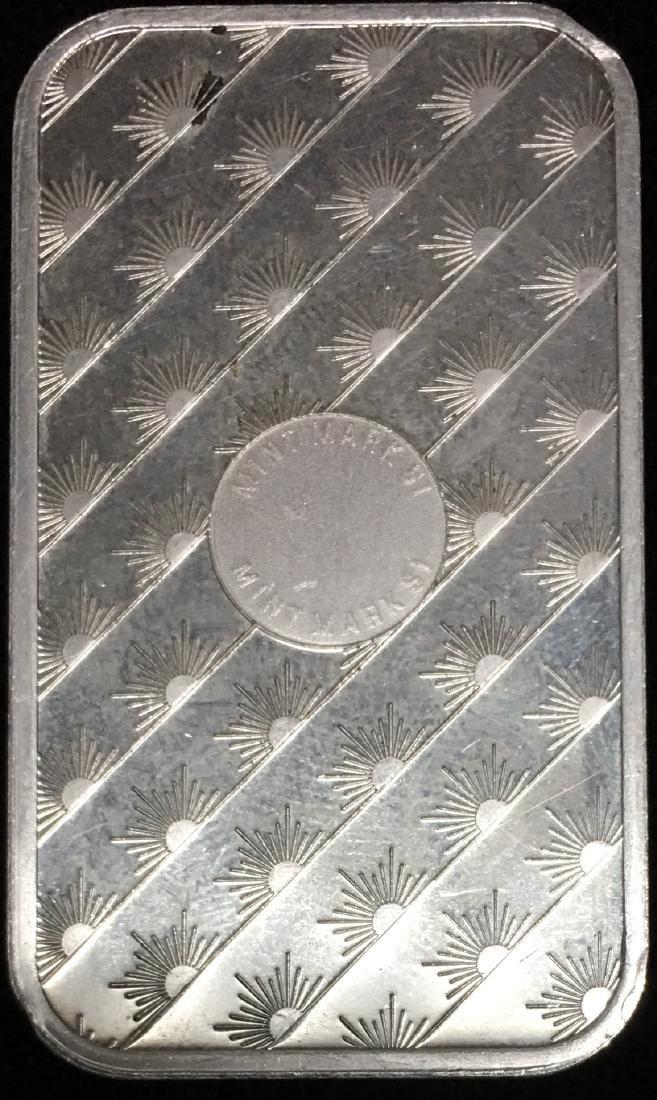 Sunshine Bar 1 oz .999 Fine Silver - 2
