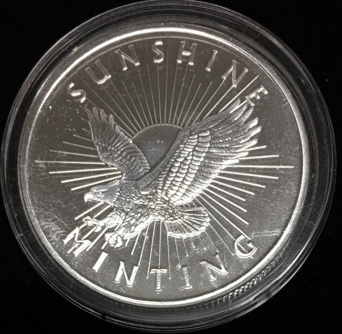 Sunshine Minting Silver Round 1 oz .999 Fine Silver