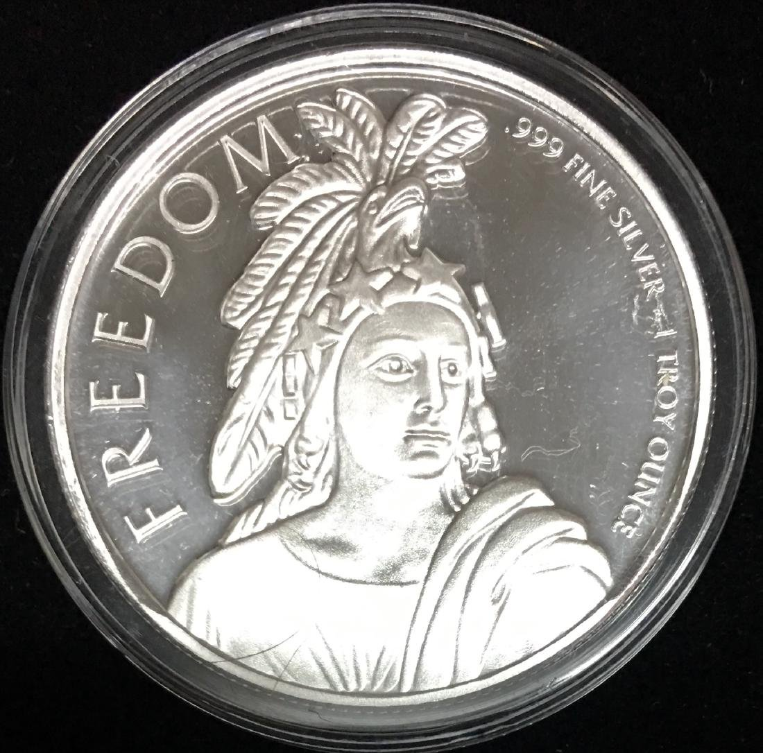 Freedom Silver Round 1 oz .999 Fine Silver