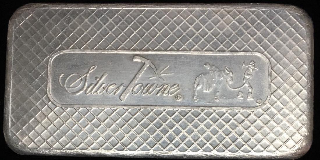 Vintage SilverTowne Prospector 10 tr oz .999 Fine - 2