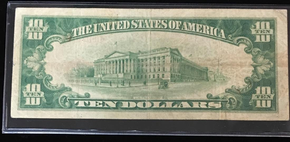 1929 $10 National Currency Charter #4248 Jones/Woods & - 2