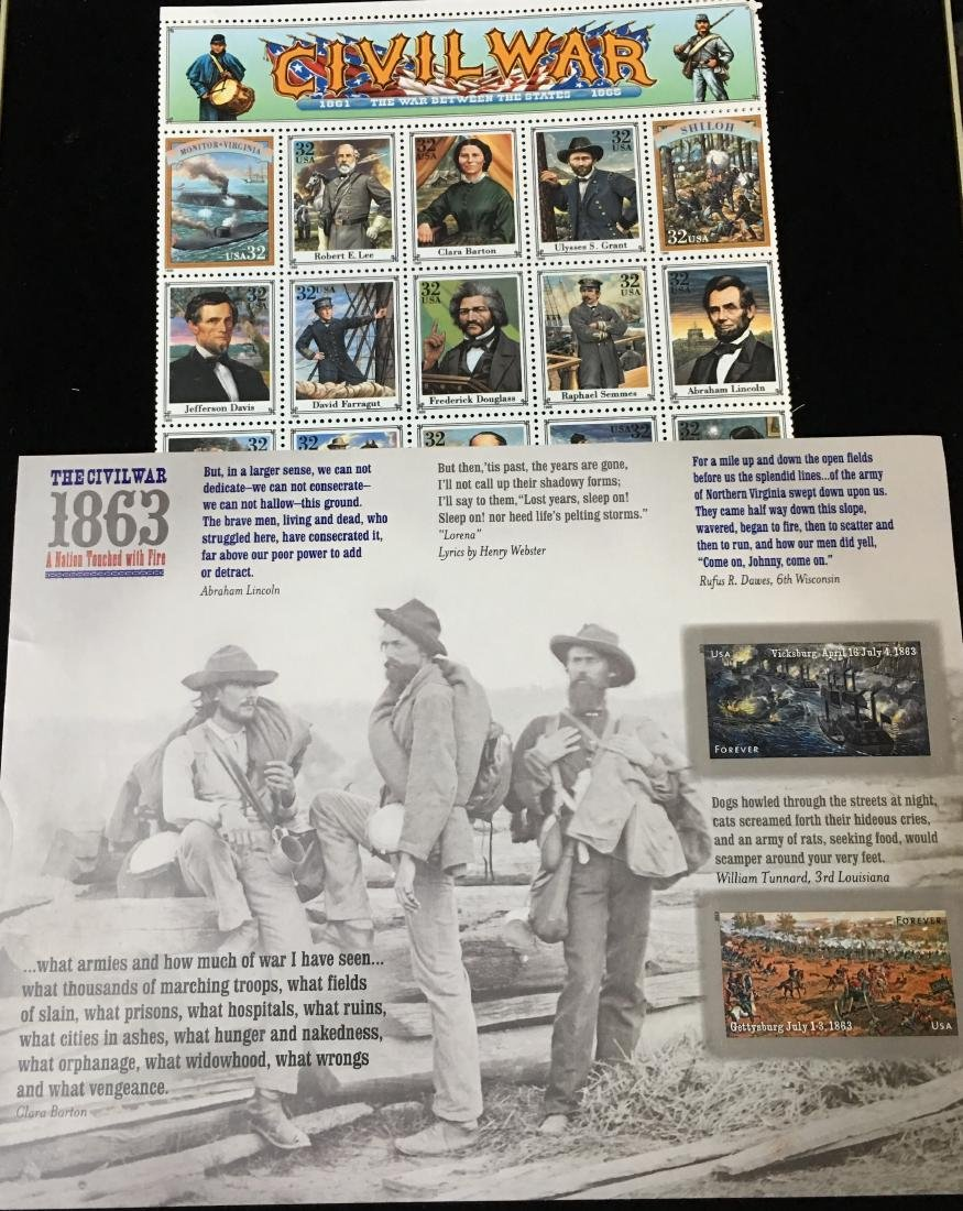 Set of 2 - 1994 & 2013 USPS Sheets of Stamps - The