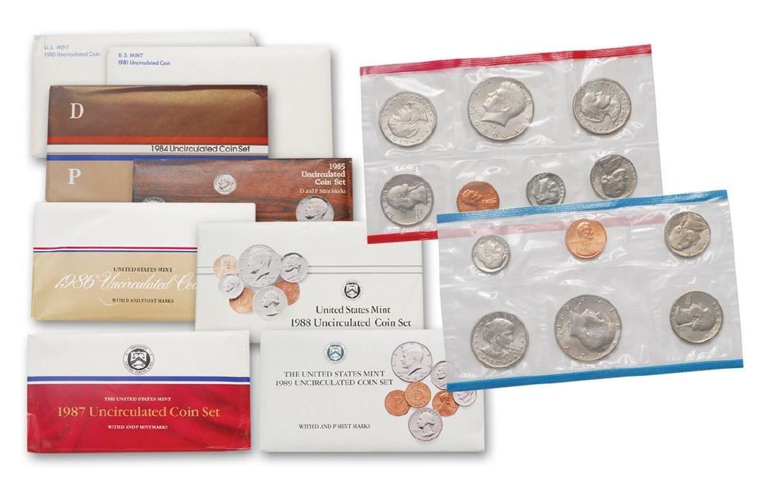 1980's Mint Sets