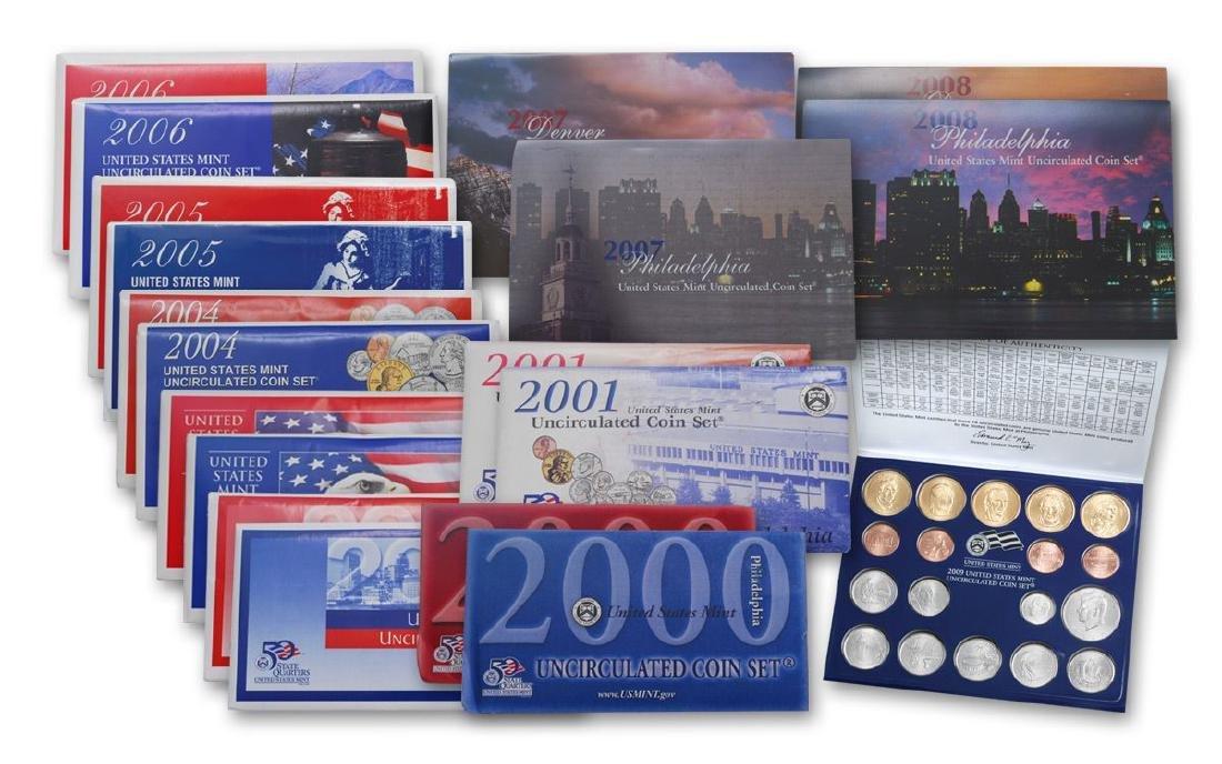 2000's Mint Sets