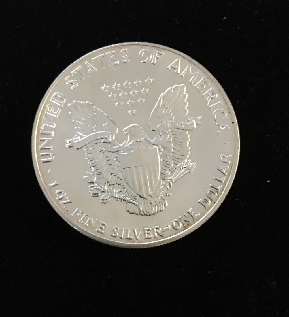1988 $1 American Silver Eagle BU - 2