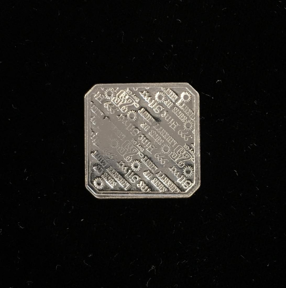 Suns of Liberty Mint 1/10 tr oz .999 Fine Silver - 2