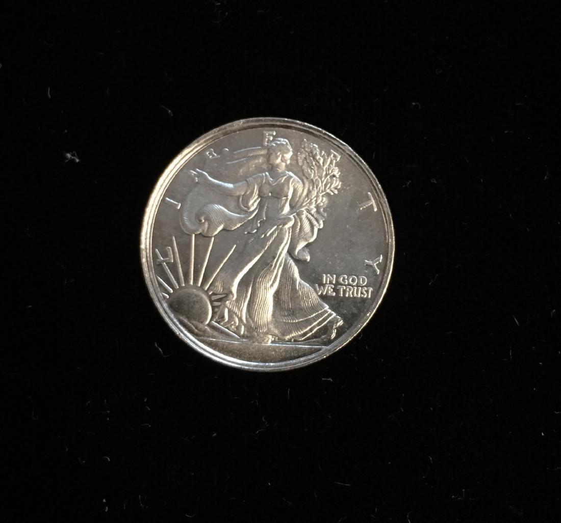 Silver Round 1/10 tr oz .999 Fine Silver