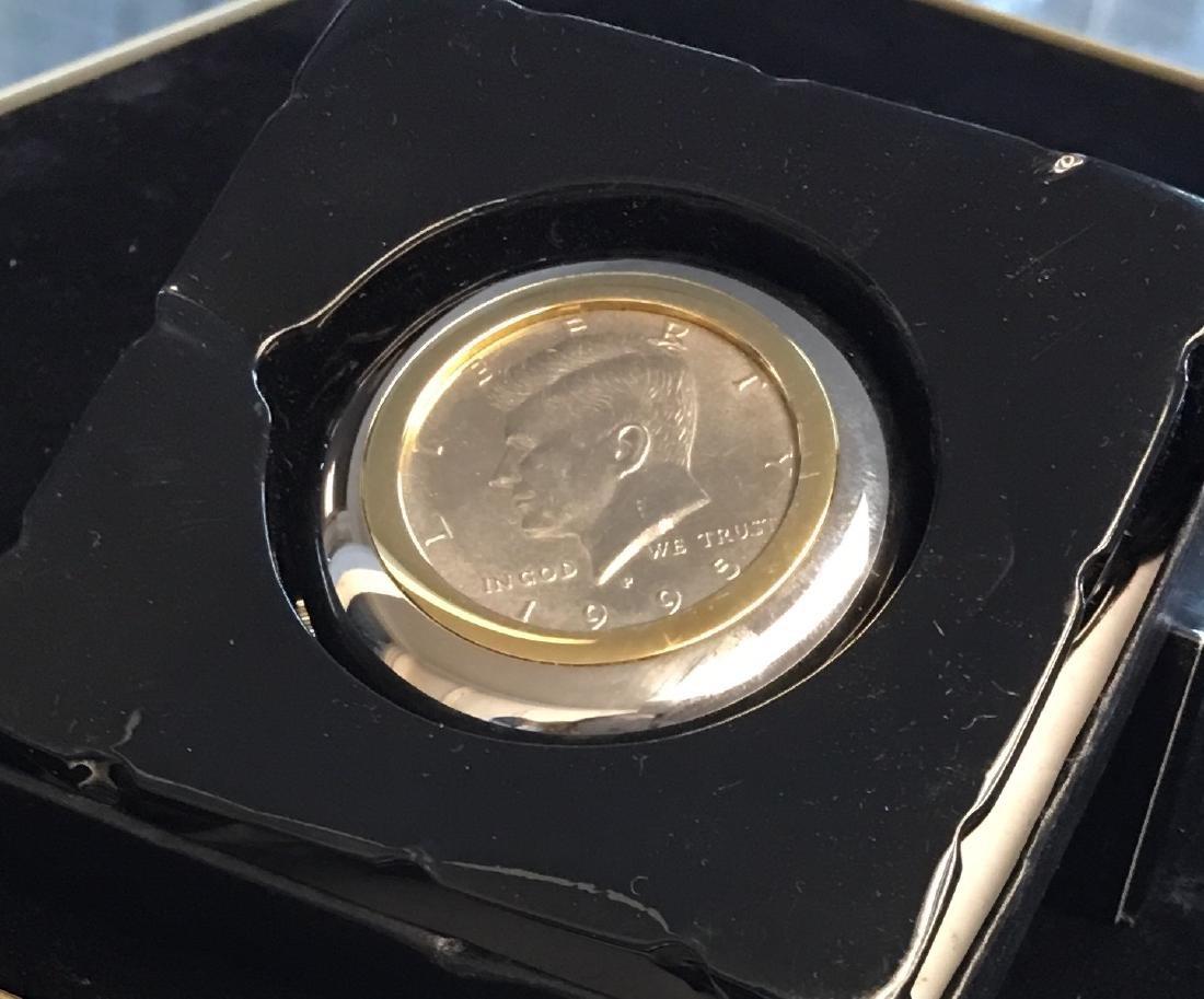 DUFONTE LUCIEN PICCARD JFK Kennedy Half Dollar $ Coins - 2