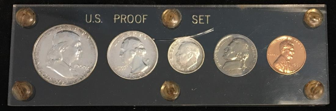 1960 U.S. Proof Set Small Date