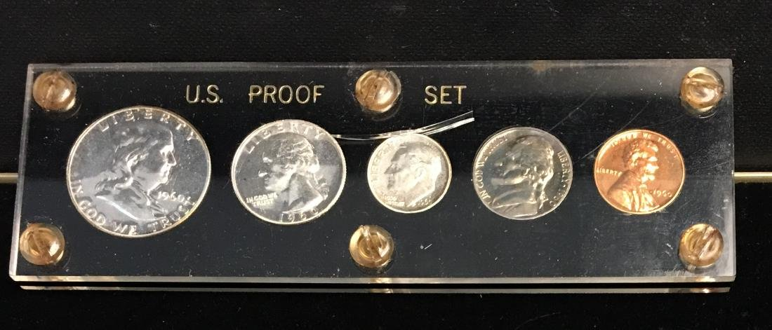 1960 U.S. Proof Set Small Date - 3
