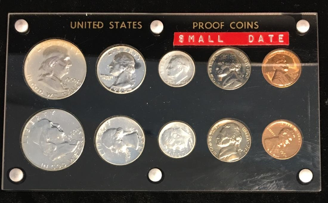 1960 U.S. Proof Set with Small Date