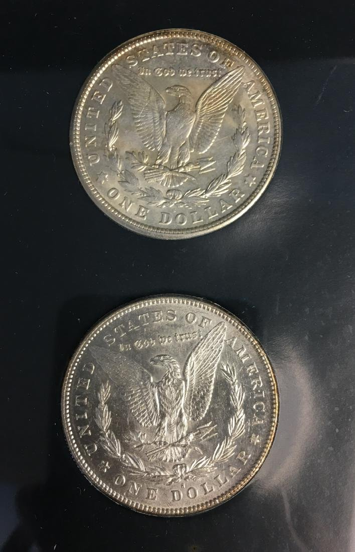 Morgan Silver Dollar First and Last Year - 1878-S and - 3
