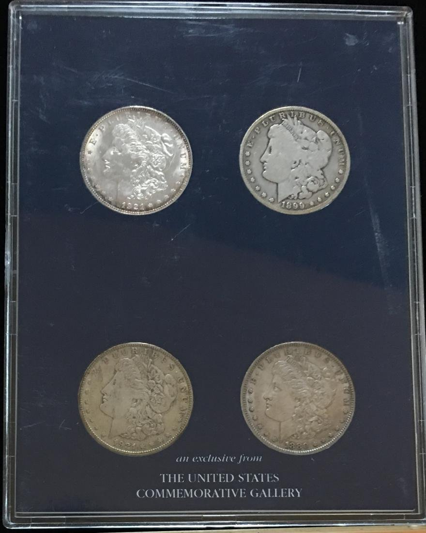 Morgan Silver Dollar Mint Mark Coin Collection  -