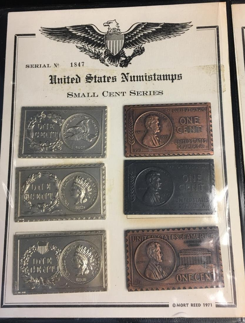 U.S. Numistamps - #1847 Small Cent Series