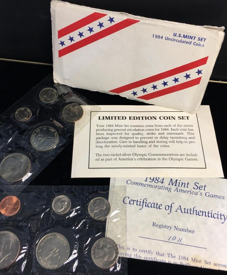 1984 U.S. Mint Set - Commemorating America's Games -