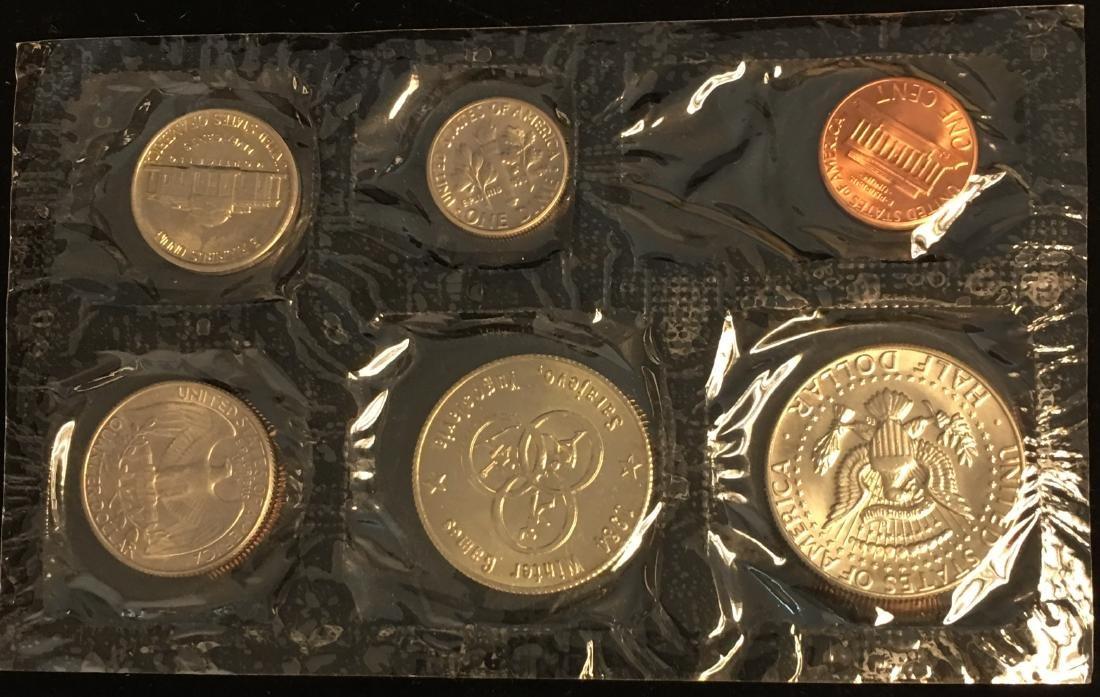 1984 U.S. Mint Set - Commemorating America's Games - - 3
