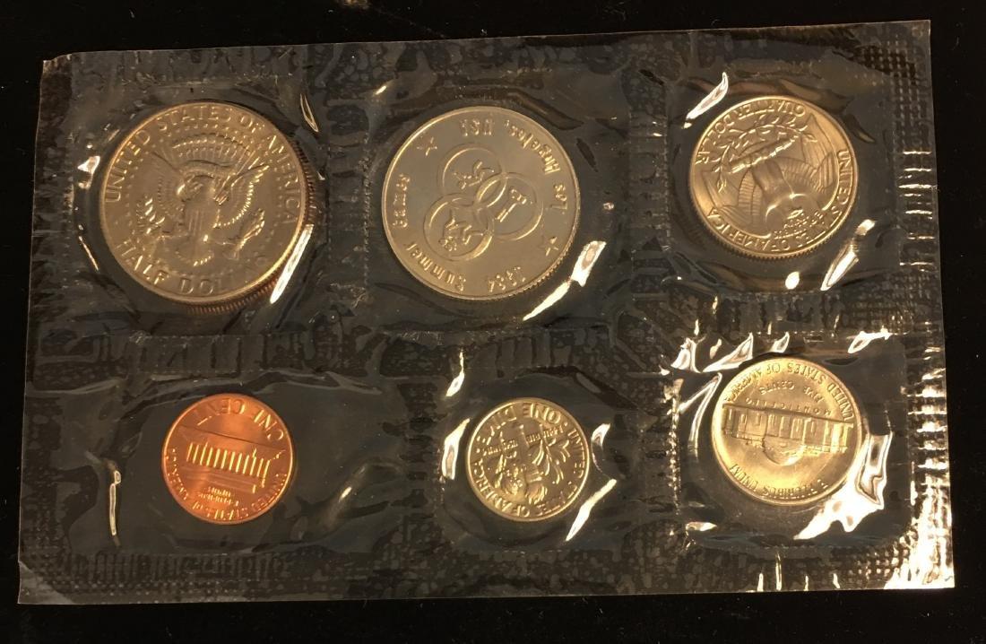 1984 U.S. Mint Set - Commemorating America's Games - - 5