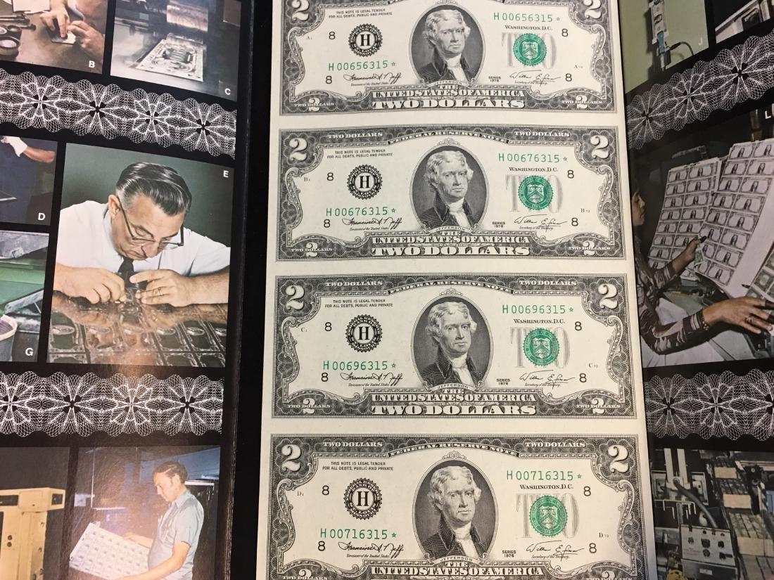 $2 Two Dollars Star Note - Engraving & Printing