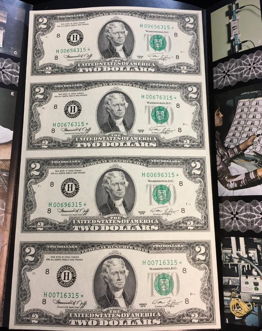 $2 Two Dollars Star Note - Engraving & Printing - 2
