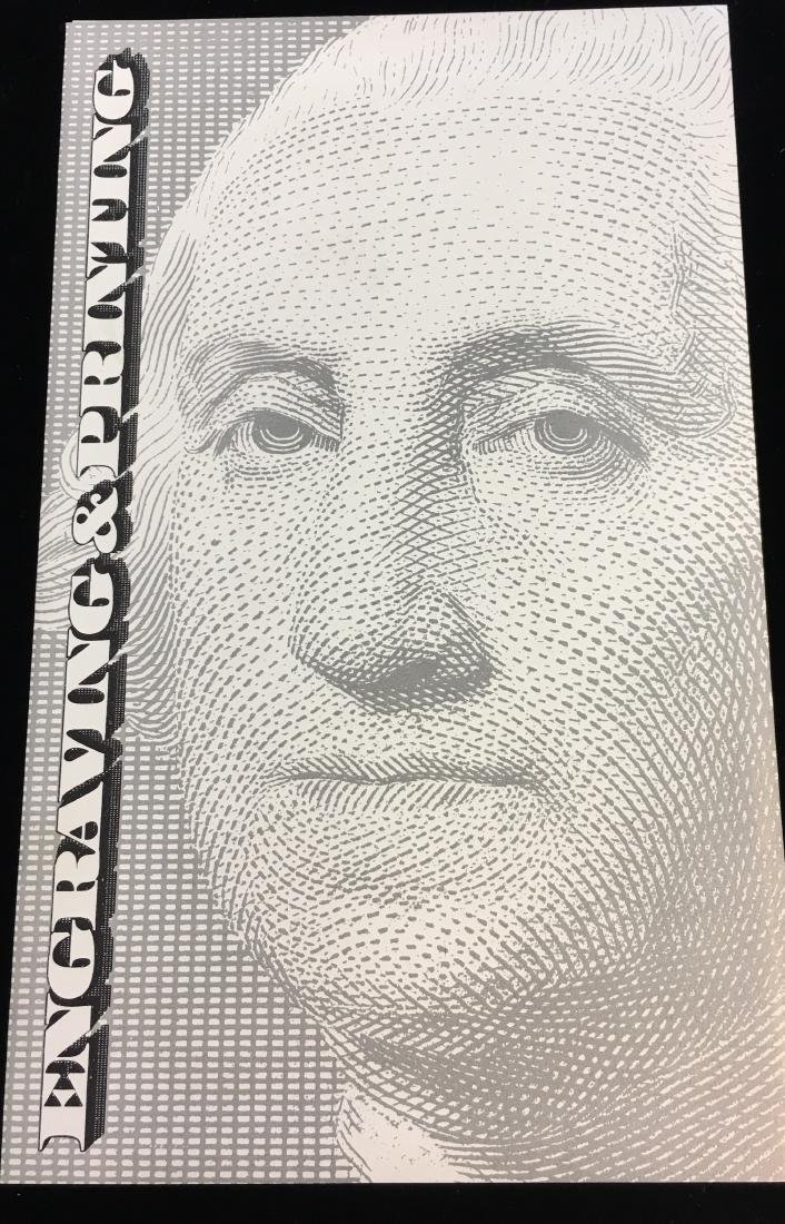 $2 Two Dollars Star Note - Engraving & Printing - 3