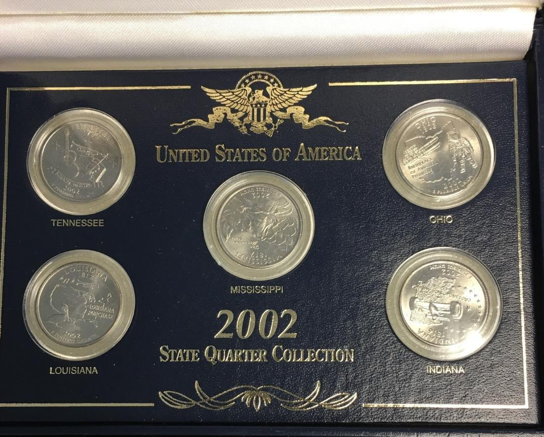 Set of 3 - 2001-2003 State Quarter Collection Sets - 10