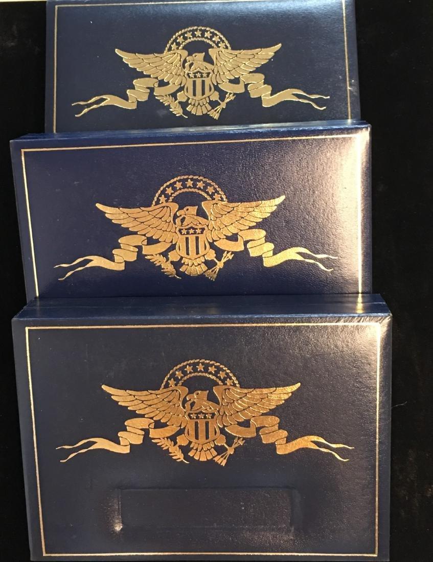 Set of 3 - 2001-2003 State Quarter Collection Sets