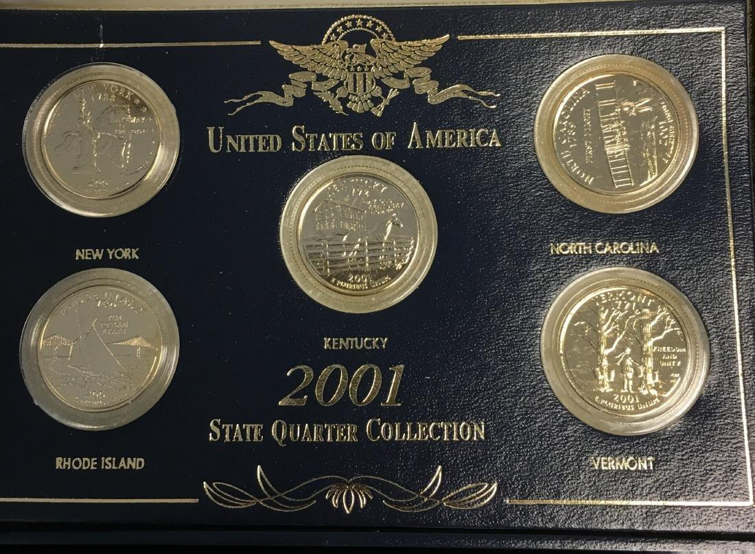 Set of 3 - 2001-2003 State Quarter Collection Sets - 4
