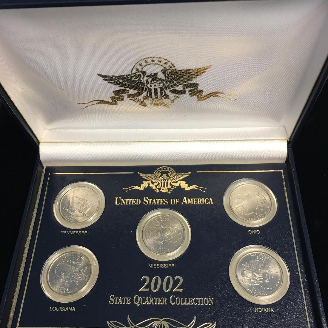 Set of 3 - 2001-2003 State Quarter Collection Sets - 9