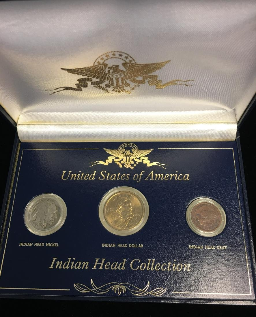 United States of America Indian Head Collection -  1906