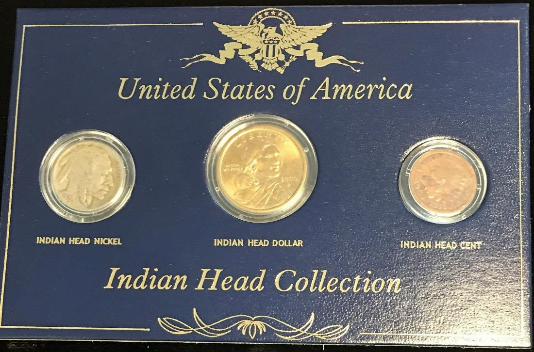 United States of America Indian Head Collection -  1906 - 2