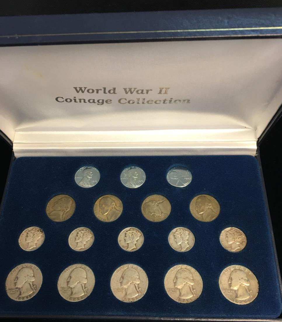 World War II Coinage Collection - Lincoln Cents,