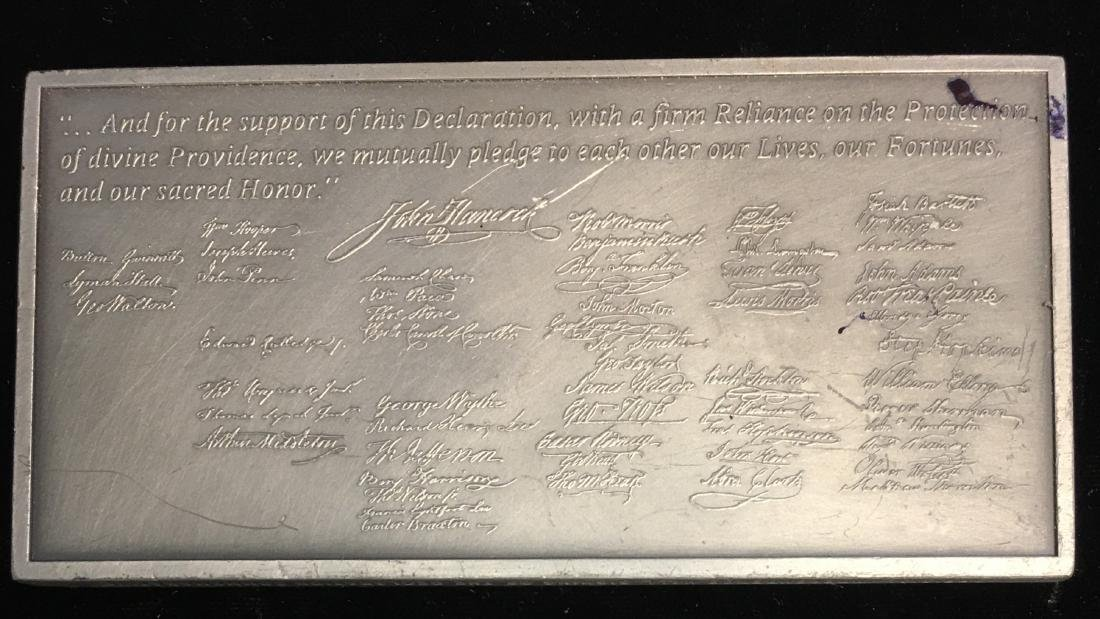 Art Bar Fine Pewter - Official Independence Hall - 3
