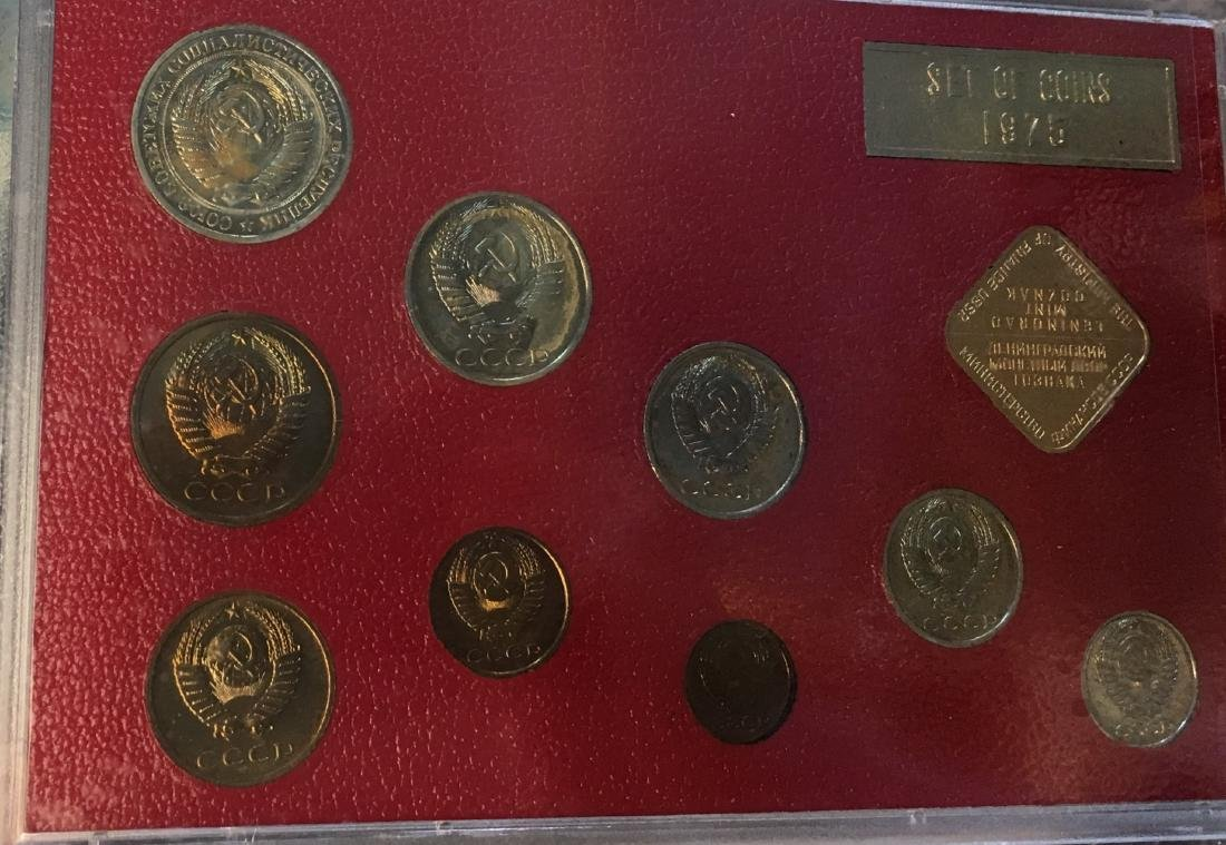 Proof Like Coin Sets of The Soviet Union 1974-1977 USSR - 4