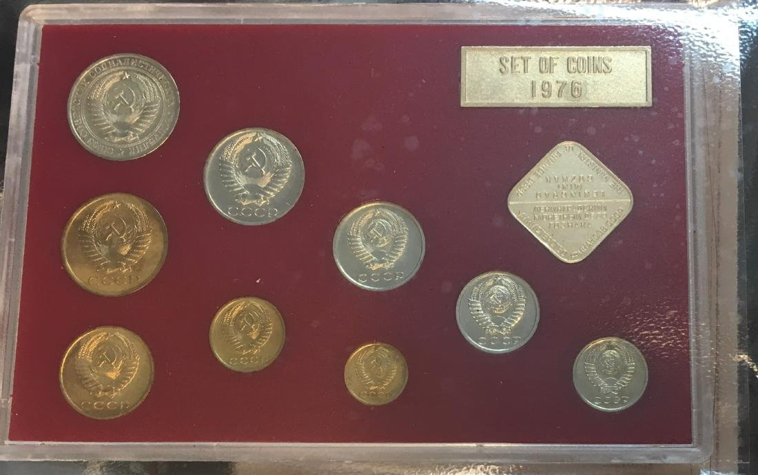 Proof Like Coin Sets of The Soviet Union 1974-1977 USSR - 8
