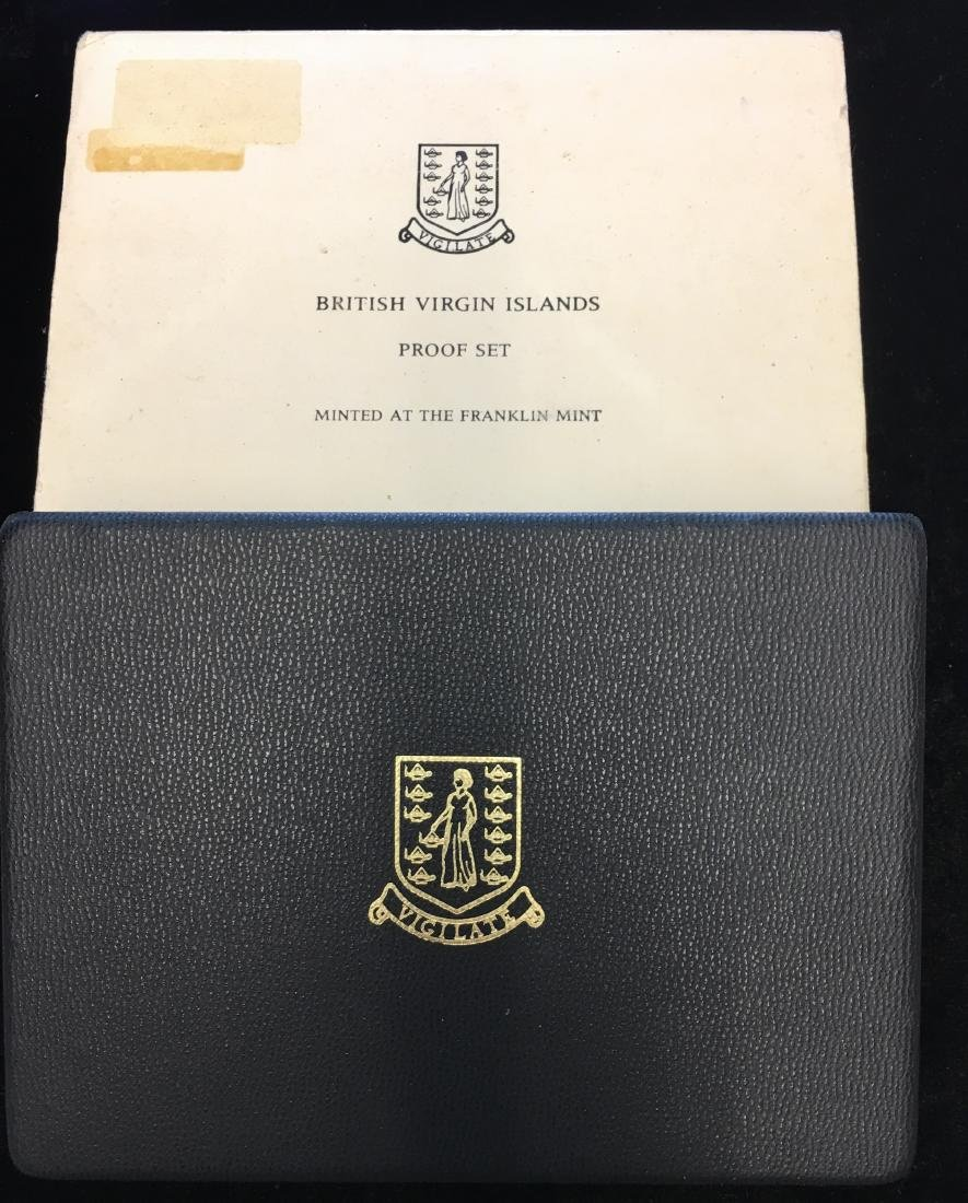1974 British Virgin Island Proof Set with $1 Silver - 4